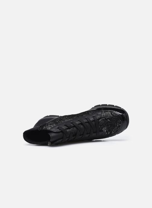 Sneaker Rieker Aurélia schwarz ansicht von links