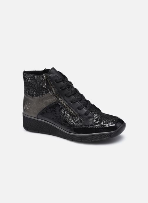 Sneaker Rieker Aurélia schwarz detaillierte ansicht/modell