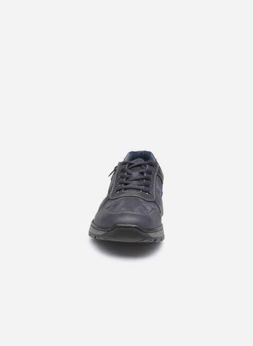 Baskets Rieker Julien Bleu vue portées chaussures