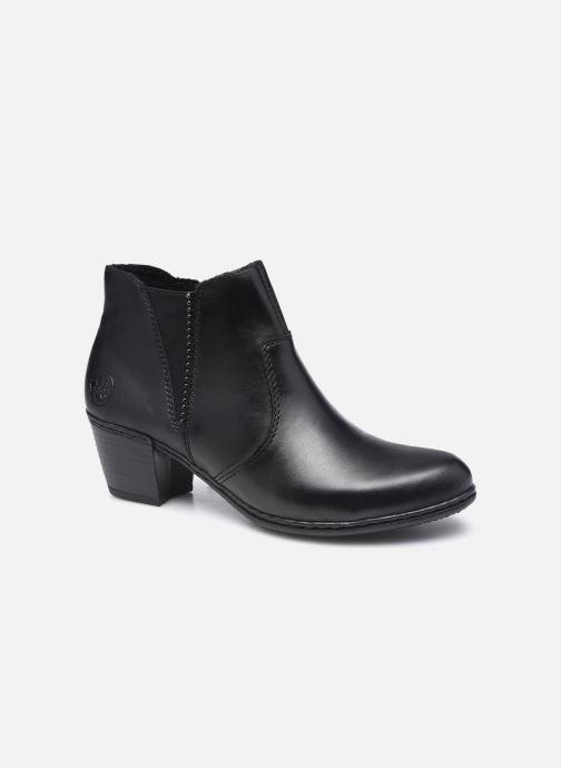 Bottines et boots Rieker Gabrielle Noir vue détail/paire