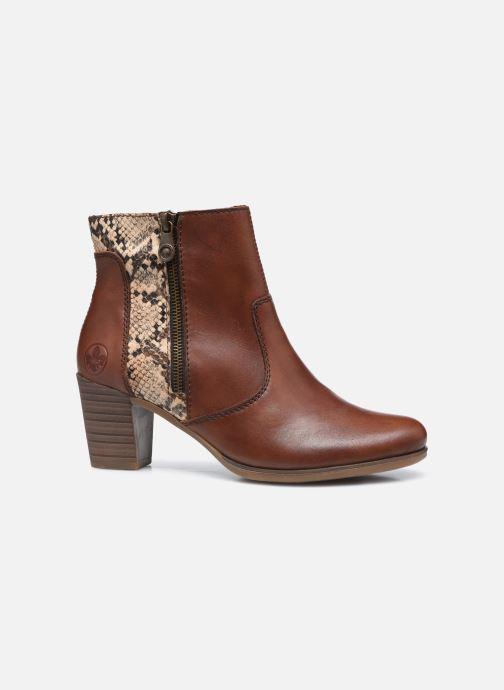 Bottines et boots Rieker Leila Marron vue derrière