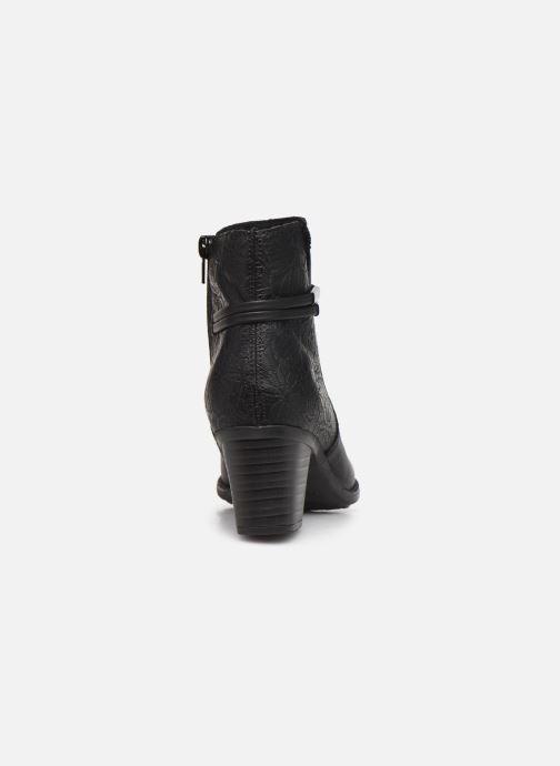 Bottines et boots Rieker Louise Noir vue droite