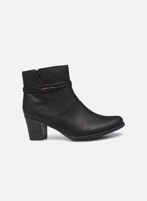 Bottines et boots Rieker Louise Noir vue derrière