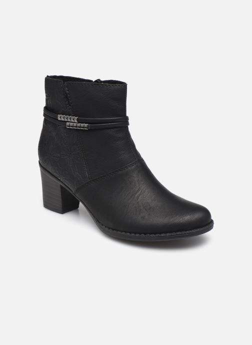 Bottines et boots Rieker Louise Noir vue détail/paire