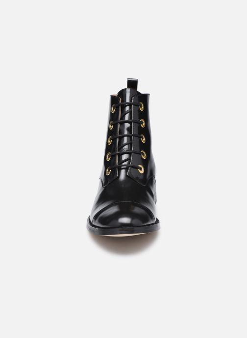 Bottines et boots Petite mendigote Vladimir Noir vue portées chaussures