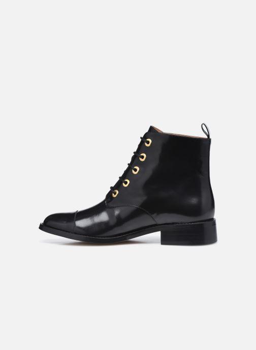 Bottines et boots Petite mendigote Vladimir Noir vue face