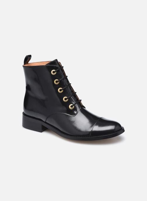 Bottines et boots Petite mendigote Vladimir Noir vue détail/paire