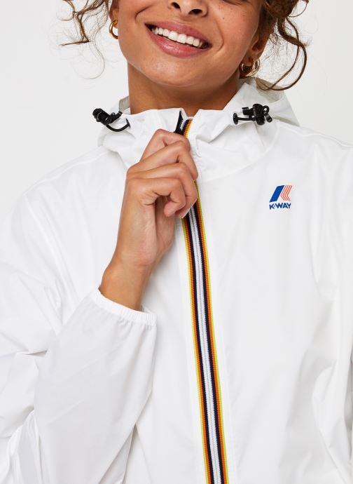 Vêtements K-Way  Le Vrai 3.0 Claude F Blanc vue face