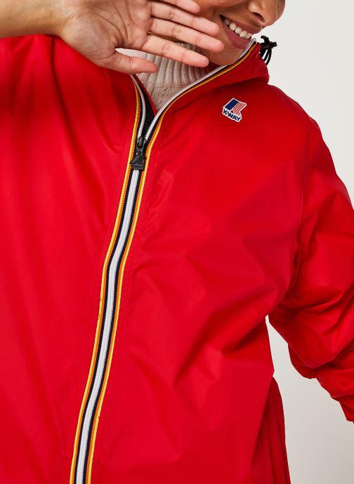 Vêtements K-Way  Le Vrai 3.0 Claude F Rouge vue face