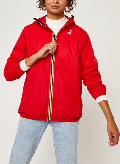 Vêtements K-Way  Le Vrai 3.0 Claude F Rouge vue détail/paire