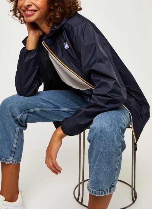 Vêtements K-Way  Le Vrai 3.0 Claude F Bleu vue détail/paire