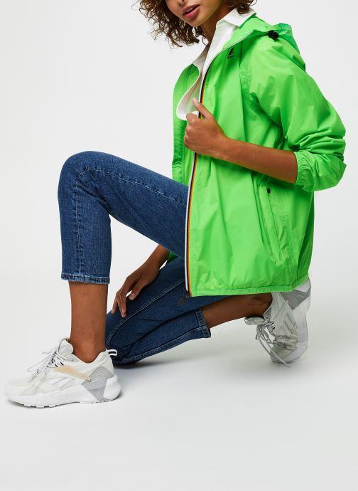 Vêtements K-Way  Le Vrai 3.0 Claude F Vert vue bas / vue portée sac