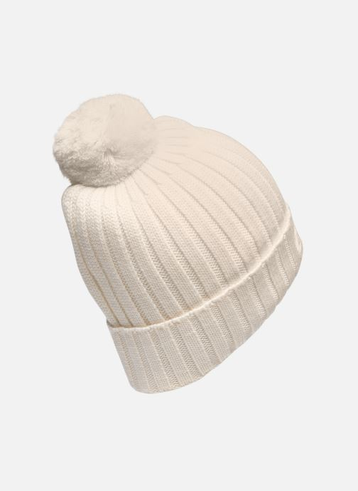 Mütze K-Way  Vincienne Rib Stitch weiß schuhe getragen