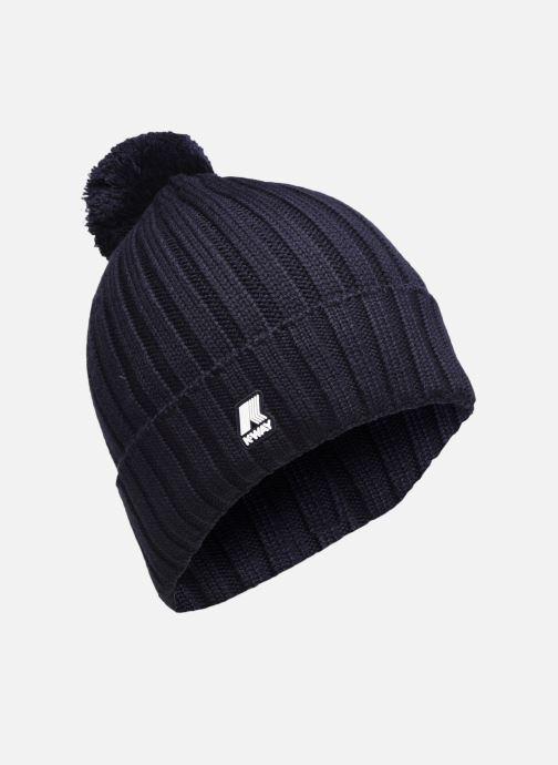Bonnets K-Way  Vincienne Rib Stitch Bleu vue détail/paire