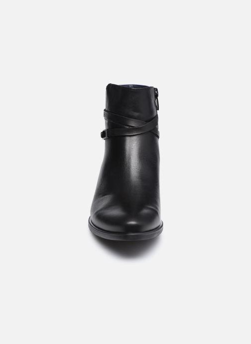 Bottines et boots Dorking D8274 Alegria Noir vue portées chaussures
