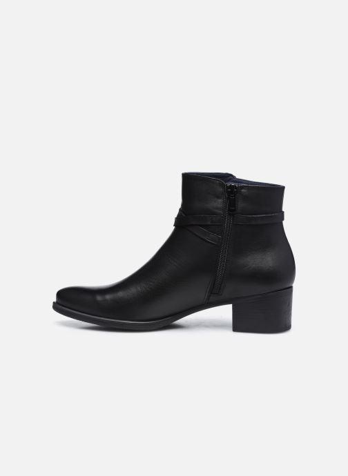 Bottines et boots Dorking D8274 Alegria Noir vue face