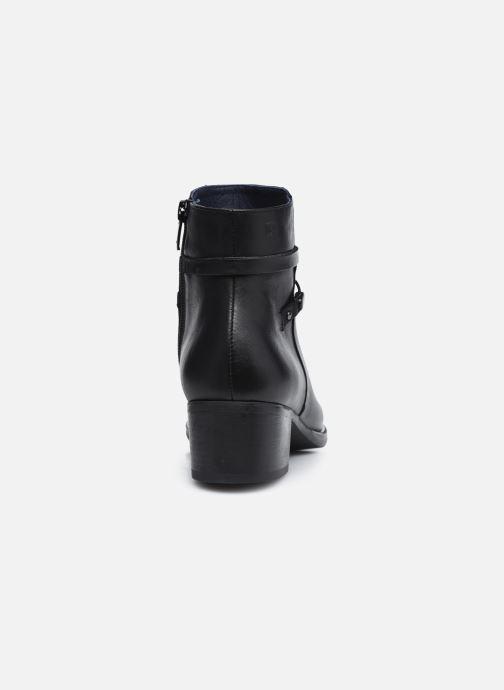 Bottines et boots Dorking D8274 Alegria Noir vue droite