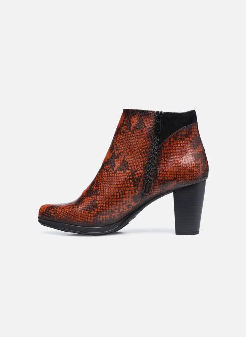 Boots en enkellaarsjes Dorking D8318 Jin Bruin voorkant