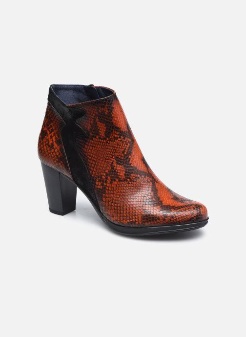 Boots en enkellaarsjes Dorking D8318 Jin Bruin detail