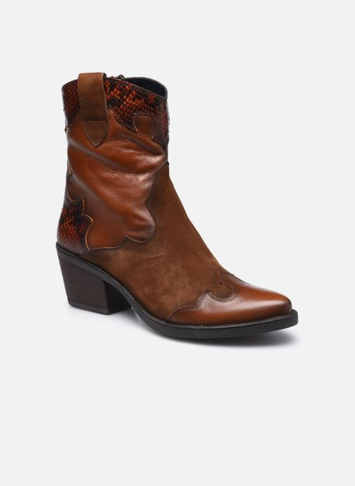 Boots en enkellaarsjes Dorking D8414 Kenia Bruin detail