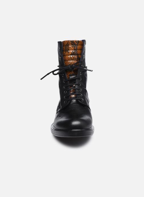 Stiefeletten & Boots Dorking D8289 Matrix schwarz schuhe getragen