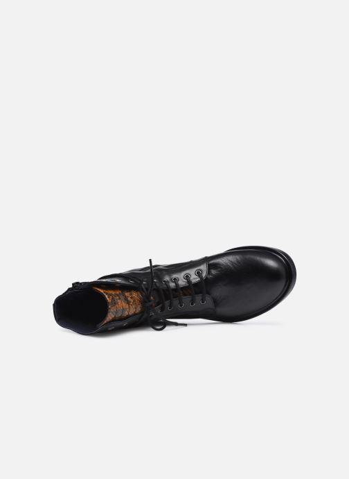 Boots en enkellaarsjes Dorking D8289 Matrix Zwart links