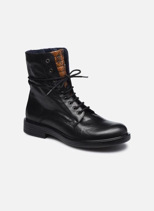 Boots en enkellaarsjes Dorking D8289 Matrix Zwart detail