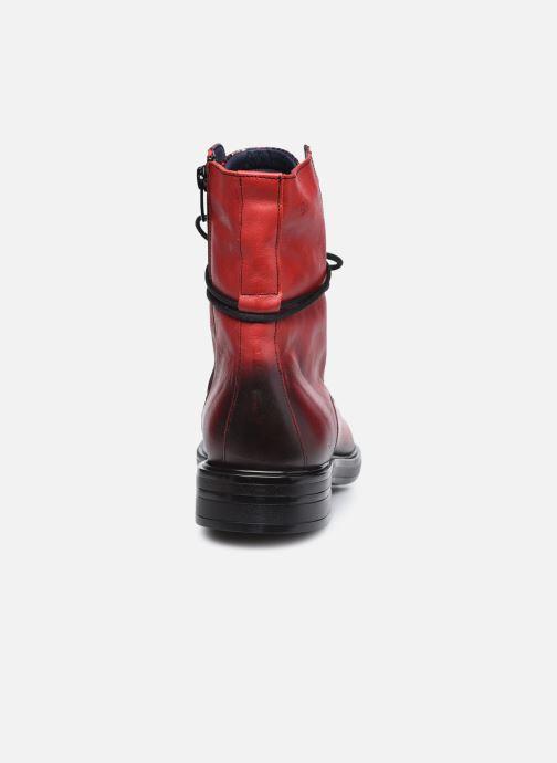 Bottines et boots Dorking D8289 Matrix Rouge vue droite