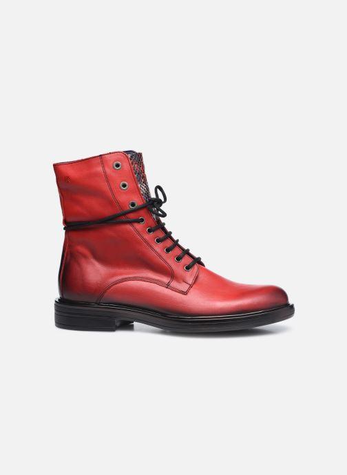 Bottines et boots Dorking D8289 Matrix Rouge vue derrière