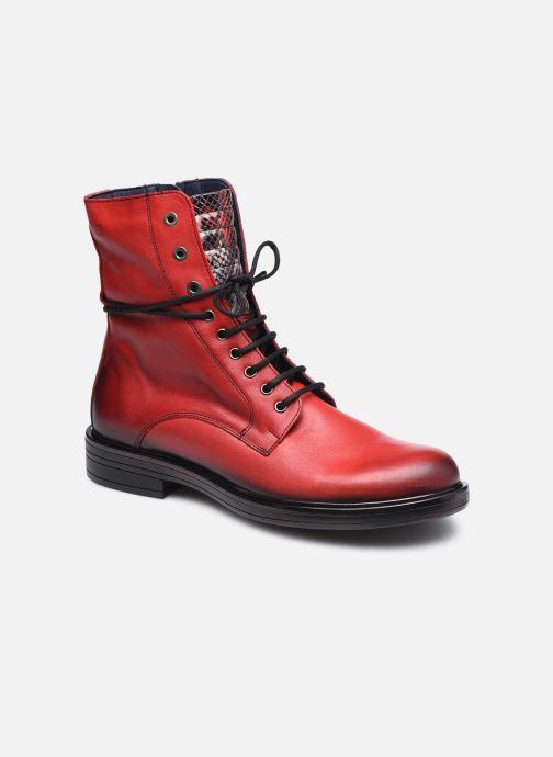 Bottines et boots Dorking D8289 Matrix Rouge vue détail/paire