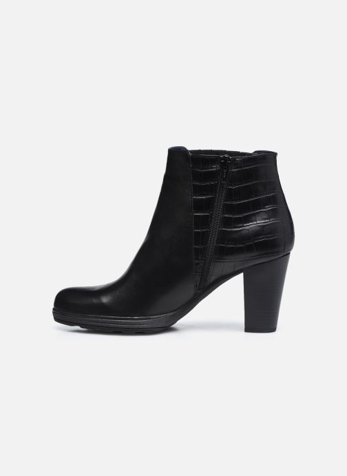 Bottines et boots Dorking D8305 Reina Noir vue face