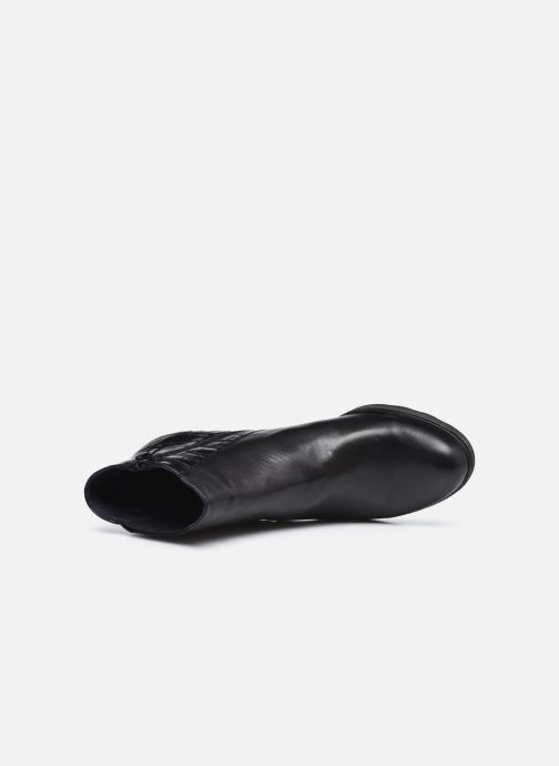 Bottines et boots Dorking D8305 Reina Noir vue gauche