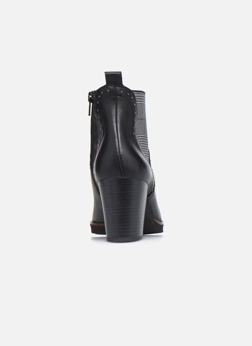 Boots en enkellaarsjes Dorking D8301 Thais Zwart rechts