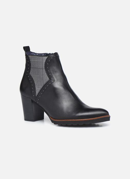 Boots en enkellaarsjes Dorking D8301 Thais Zwart detail