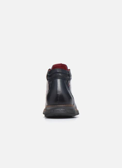 Bottines et boots Fluchos Kiro F0978 Bleu vue droite