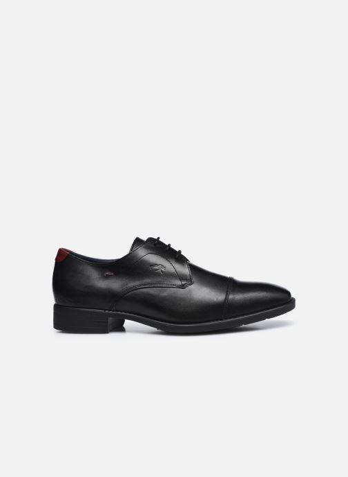 Chaussures à lacets Fluchos Luke F1055 Noir vue derrière