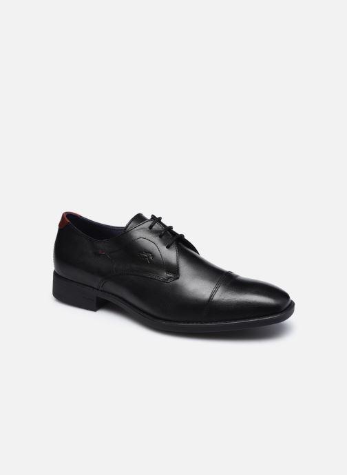 Chaussures à lacets Fluchos Luke F1055 Noir vue détail/paire