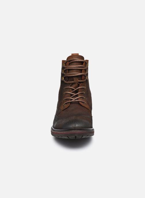 Stiefeletten & Boots Fluchos Owen F0995 braun schuhe getragen