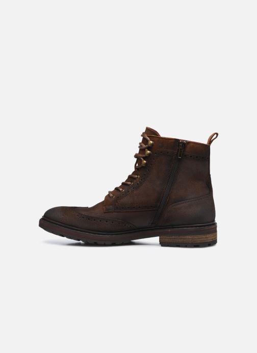 Stiefeletten & Boots Fluchos Owen F0995 braun ansicht von vorne