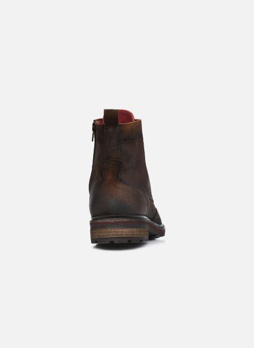 Stiefeletten & Boots Fluchos Owen F0995 braun ansicht von rechts