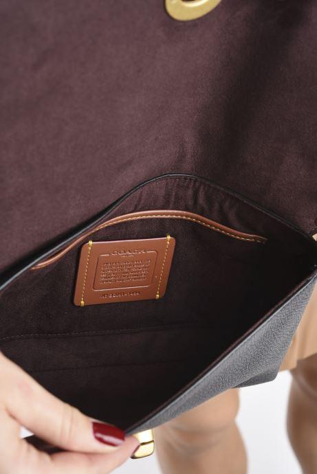 Handtaschen Coach Crsstown Xbody schwarz ansicht von hinten