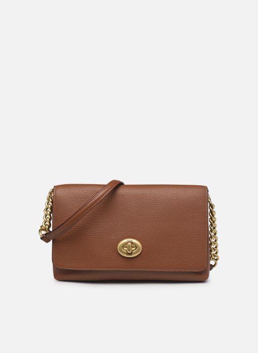 Handtaschen Coach Crsstown Xbody braun detaillierte ansicht/modell