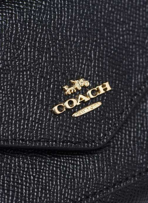 Portemonnaies & Clutches Coach Small Wallet schwarz ansicht von links