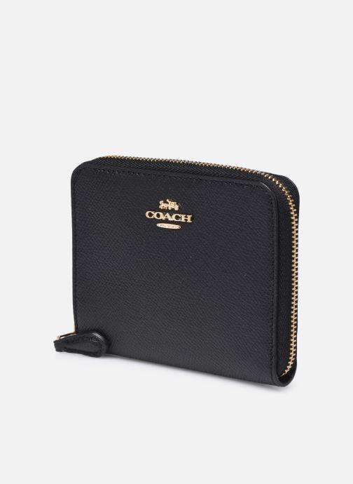 Portemonnaies & Clutches Coach Small Zip Around Wallet schwarz schuhe getragen
