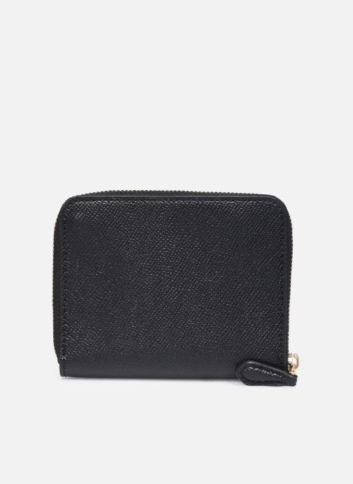 Portemonnaies & Clutches Coach Small Zip Around Wallet schwarz ansicht von vorne