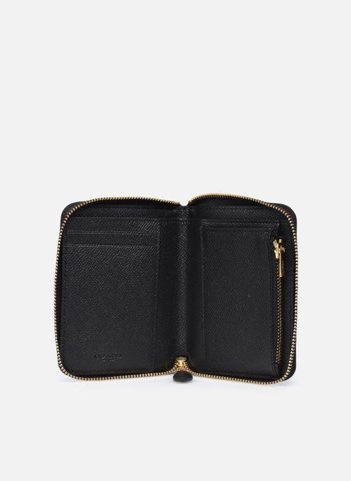 Portemonnaies & Clutches Coach Small Zip Around Wallet schwarz ansicht von hinten