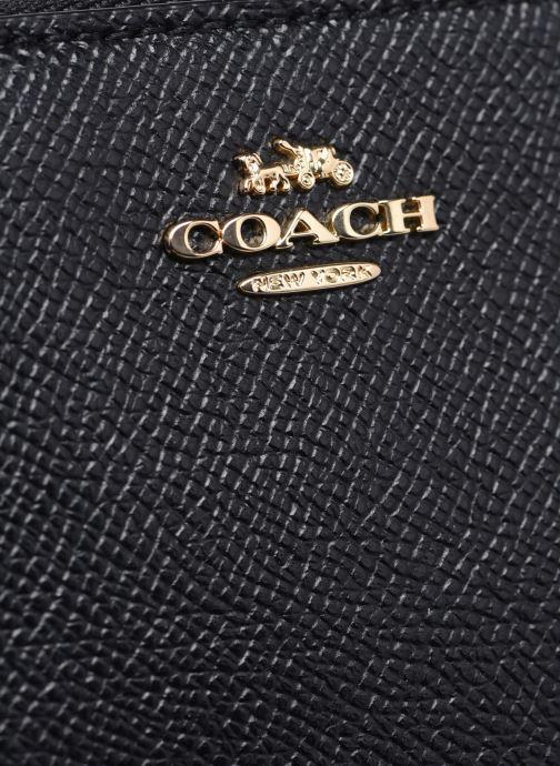Portemonnaies & Clutches Coach Small Zip Around Wallet schwarz ansicht von links