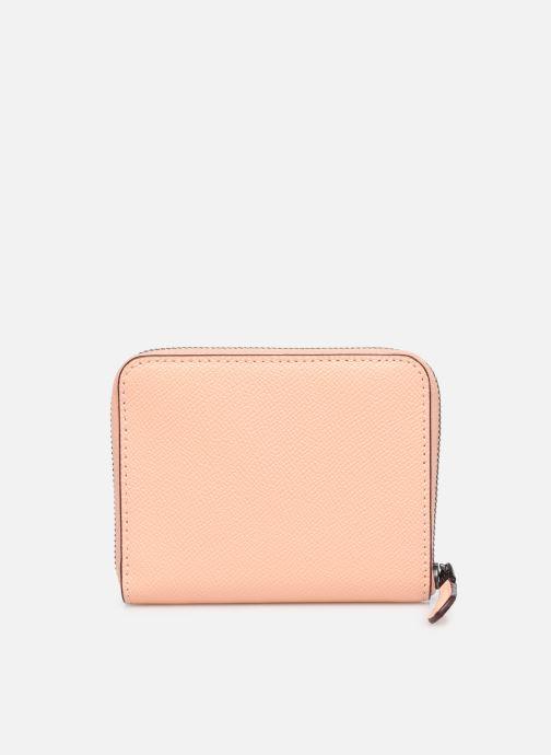 Pelletteria Coach Small Zip Around Wallet Rosa immagine frontale