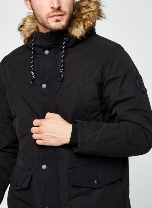 Vêtements Jack & Jones Jjsky Parka Jacket Noir vue face