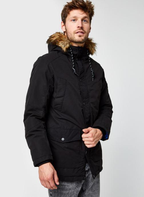 Vêtements Jack & Jones Jjsky Parka Jacket Noir vue droite